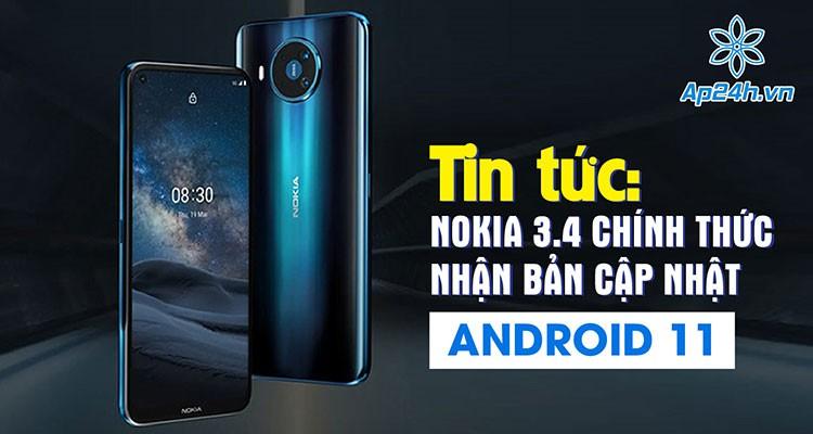Tin tức: Nokia 3.4 chính thức nhận bản cập nhật Android 11
