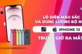 Lộ diện màu sắc và dung lượng bộ nhớ iPhone 13 trước giờ ra mắt