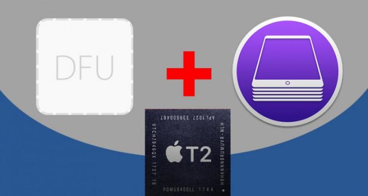 DFU + Apple Configurator 2 – Công cụ Restore, sửa lỗi firmware trên Chip Apple T2