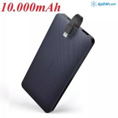 Ugreen 50412 10000mah Double Usb Power Bank Sạc Dự Phòng 2 Cổng Thiết Bị Ed016