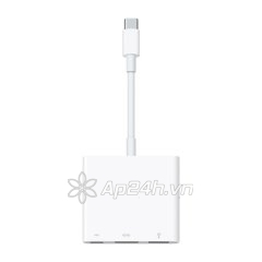 Dây Cáp Chuyển Đổi USB Type-C Sang USB / USB Type-C / HDMI Apple Digital AV Multiport Adapter MJ1K2ZP/A