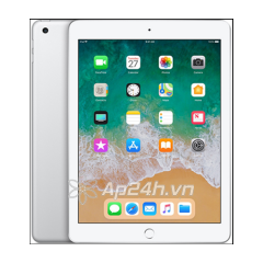 iPad Gen 6 WiFi + 4G 32GB Silver 2018
