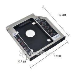 Khay Ổ Cứng Caddy Bay dày 12.7mm (Gắn Ổ Cứng Thay Ổ Quang Laptop)