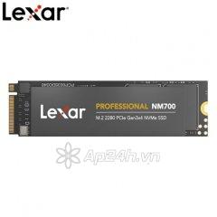 Ổ cứng SSD M2-PCIe 256GB Lexar NM700