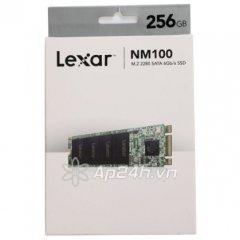 Ổ cứng SSD M2-SATA 256GB Lexar NM100 2280