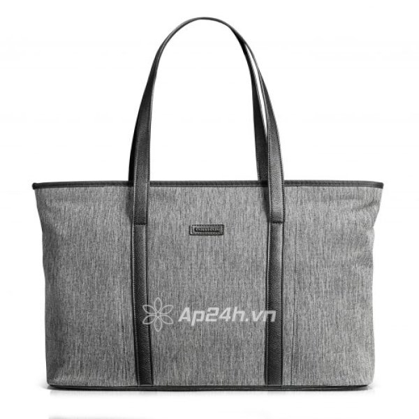 "TÚI XÁCH TOMTOC (USA) FASHION AND STYLISH TOTE BAG FOR ULTRABOOK 13""-15.4"" GRAY"