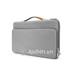 "TÚI XÁCH CHỐNG SỐC TOMTOC (USA) Briefcase A14-B02G MACBOOK PRO 13"" NEW (Sliver Gray)"