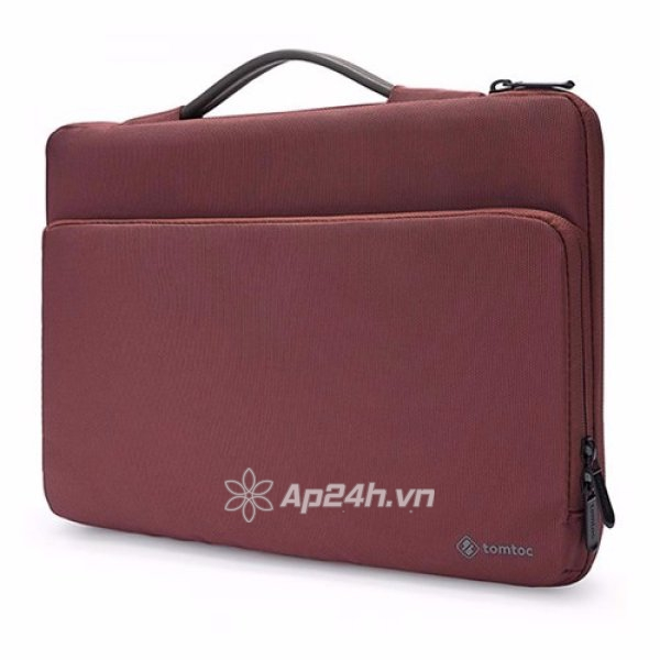 """TÚI XÁCH CHỐNG SỐC TOMTOC (USA) Briefcase A14-B02R MACBOOK PRO 13"""" NEW (RED)"""