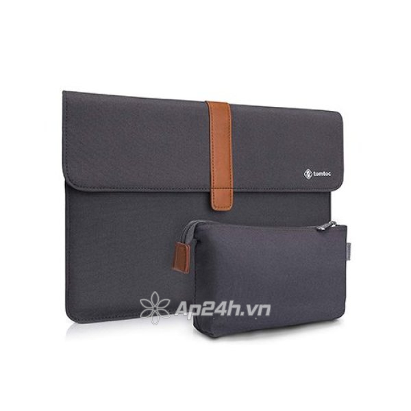 TÚI CHỐNG SỐC TOMTOC (USA) ENVELOPE + POUCH  MACBOOK Air/Retina13