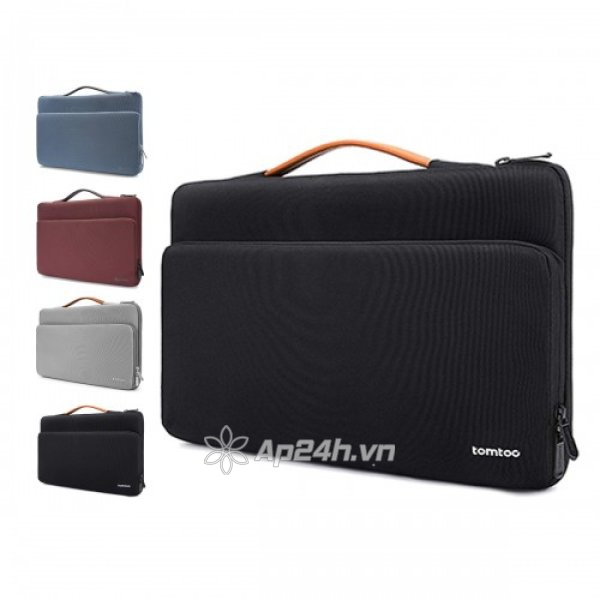 """TÚI XÁCH CHỐNG SỐC TOMTOC (USA) Briefcase MACBOOK PRO 15"""" NEW (Sliver Gray/Black/Red/Blue) A14-D01G"""