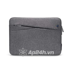 "TÚI CHỐNG SỐC TOMTOC (USA) STYLE MACBOOK AIR/RETINA 13"" (Gray/Grass Green/Dazzling blue) A18-C01G"