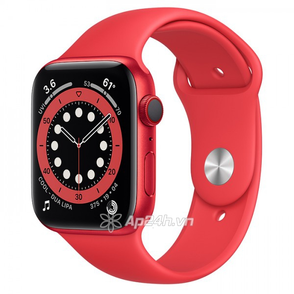 Apple Watch Series 6 GPS 40mm M00A3VN/A Aluminium Case with PRODUCT(RED) Sport Band (Apple VN)