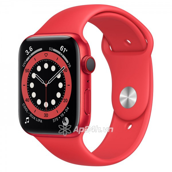 Apple Watch Series 6 GPS + Cellular 40mm M06R3VN/A RED Aluminium Case with PRODUCT(RED) Sport Band (Apple VN)