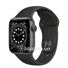 Apple Watch Series 6 GPS 44mm M00H3VN/A Space Gray Aluminium Case with Black Sport Band (Apple VN)
