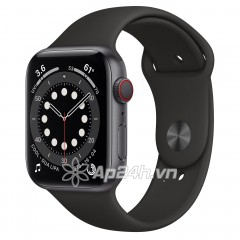 Apple Watch Series 6 GPS + Cellular 44mm MG2E3VN/A Space Grey Aluminium Case with Black Sport Band (Apple VN)