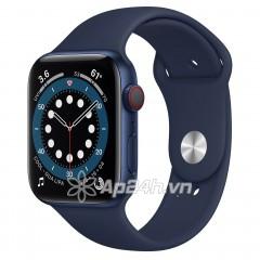 Apple Watch Series 6 GPS + Cellular 44mm M09A3VN/A Blue Aluminium Case with Deep Navy Sport Band (Apple VN