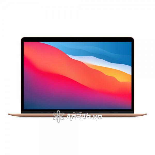 Macbook Air M1 MGND3SA/A 13-inch 256G Gold- Like new fullbox