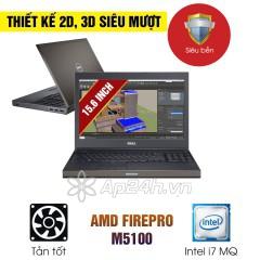 Laptop Cũ Dell Precision M4800 Intel Core i7 MQ