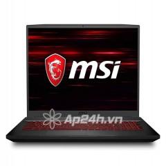 Laptop MSI Gaming GF75 Thin 10SCXR 013VN (i7-10750H/ 8GB/ 512GB SSD/ 17.3FHD, 144Hz/ GTX1650 4GB DDR6/ Win10/ Black)