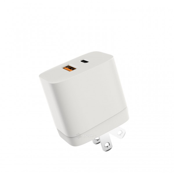 SẠC 2 CỔNG HYPERJUICE 20W CHARGER SMALL SIZE – HJ205