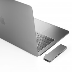 HyperDrive SOLO 7-in-1 USB-C Hub for MacBook, PC & DevicesHyperDrive USB-C Hub with 4K HDMI Support (for 2016/2017 MacBook Pro & 12