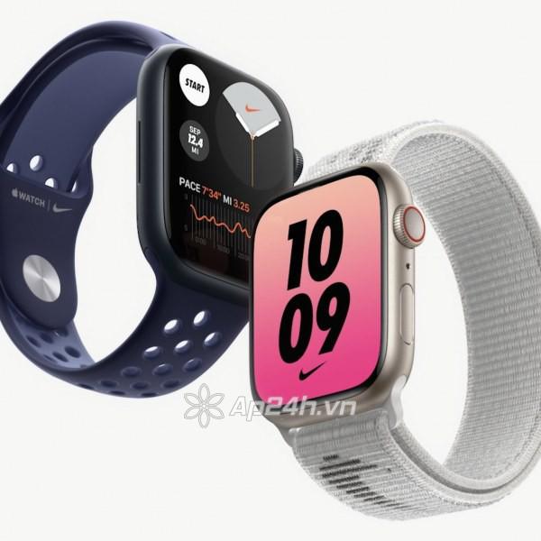 Apple Watch Series 7 GPS 45mm viền nhôm dây cao su