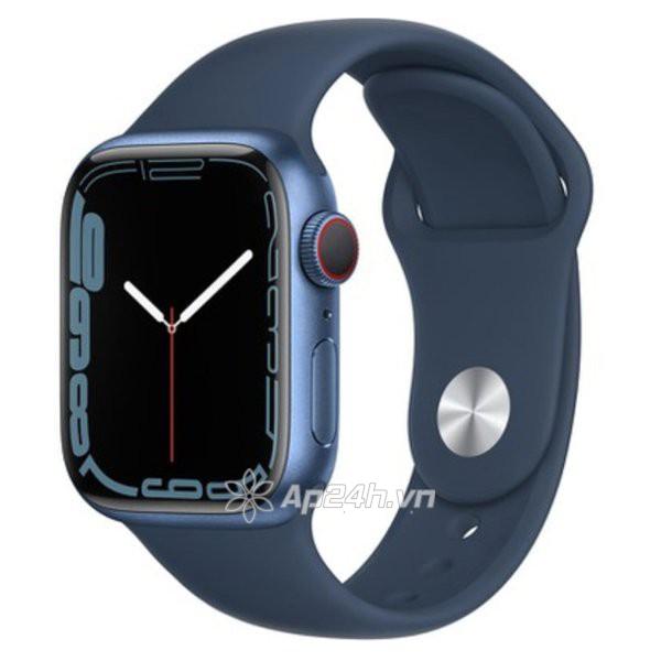 Apple Watch Series 7 GPS + Cellular 41mm viền nhôm dây cao su