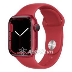 Apple Watch Series 7 GPS 41mm viền nhôm dây cao su